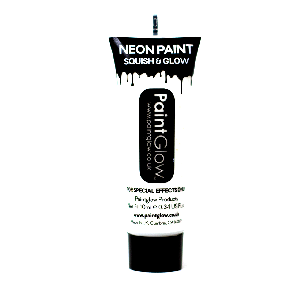 Paint Glow Neon UV Bright Face & Body Paint Fluorescent Rave Festival 10ml