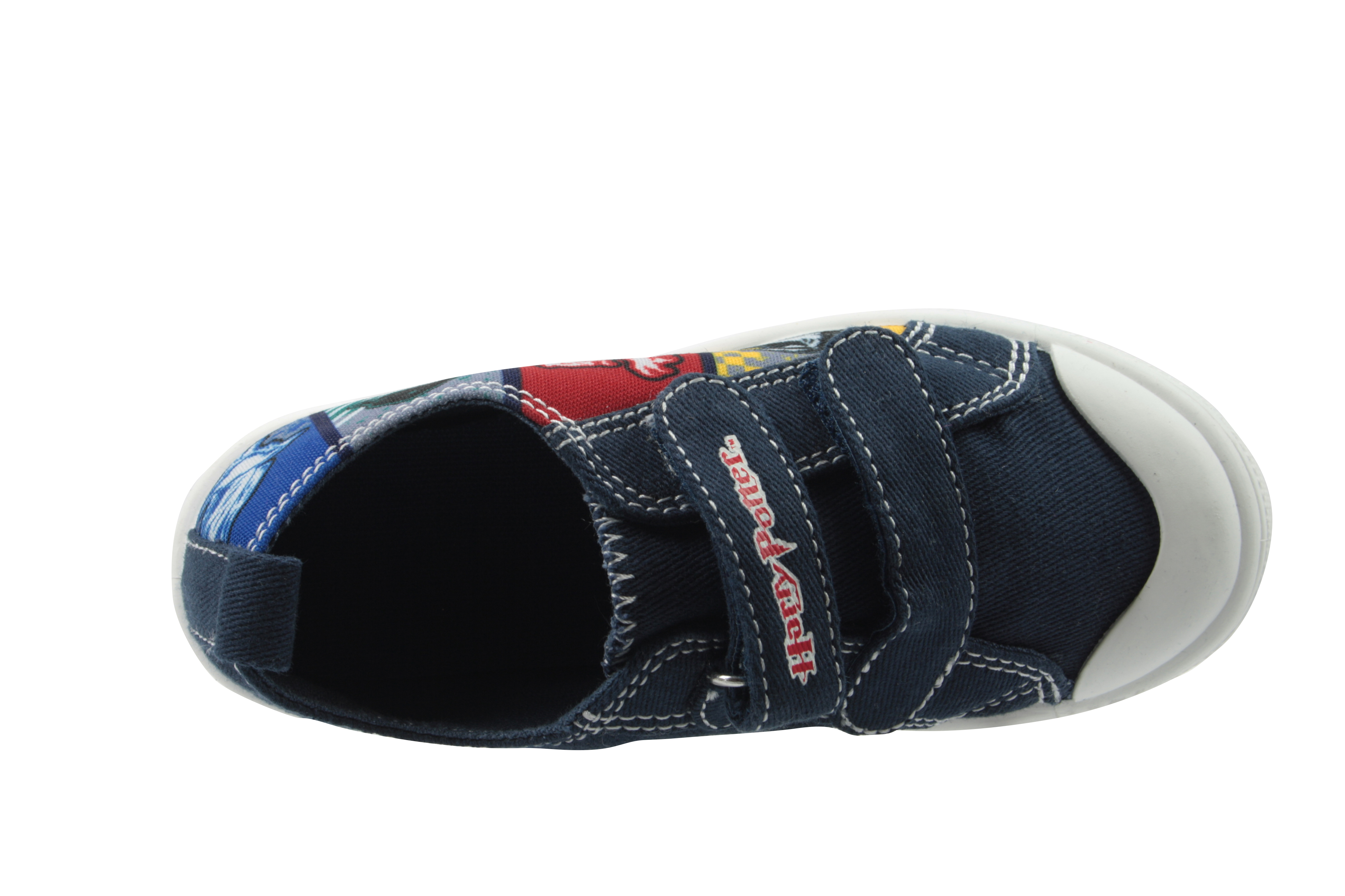 Harry Potter Boys Geryon Casual Shoes Low Top Trainers Blue UK Sizes Child 8-2