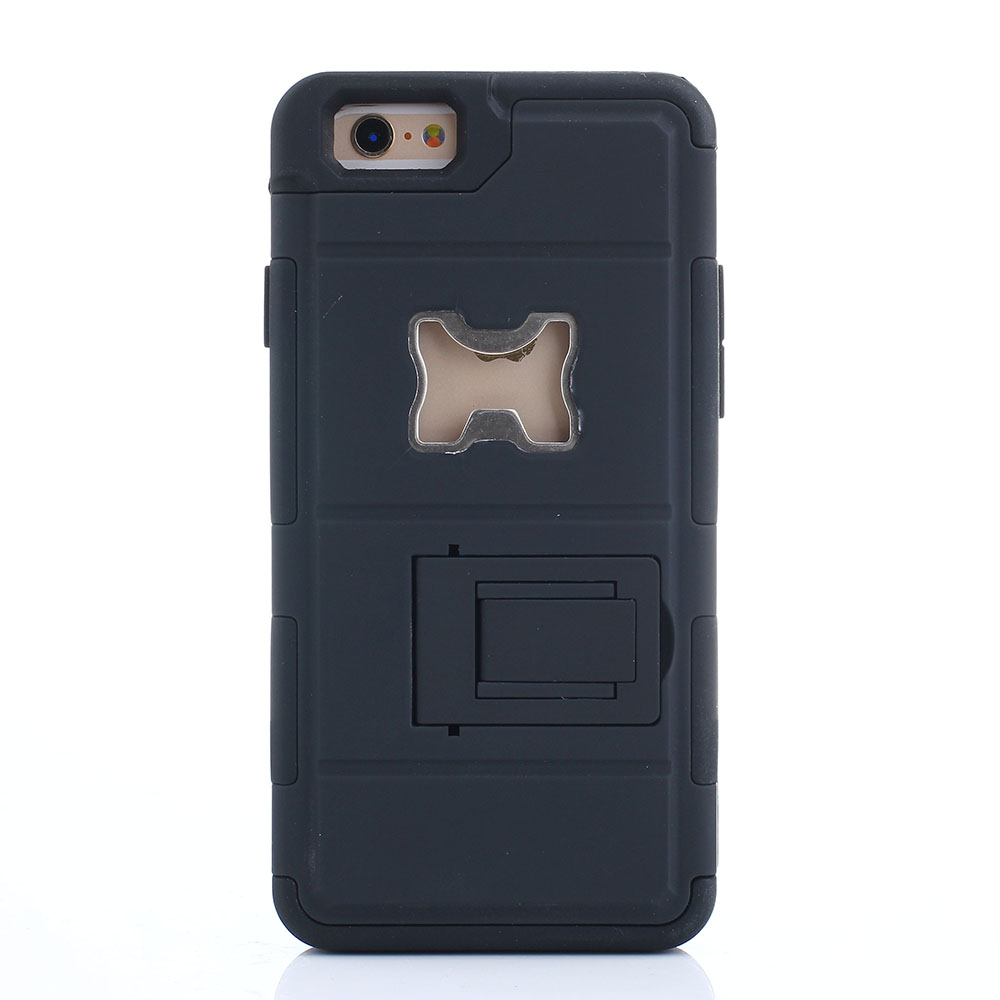 shockproof dust armor beer bottle opener case for apple iphone 4 4s 5 5s 6 4 7 ebay. Black Bedroom Furniture Sets. Home Design Ideas