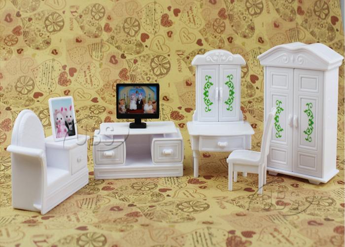 kitchen living room bedroom miniature sofa furniture for sylvanian families doll. beautiful ideas. Home Design Ideas