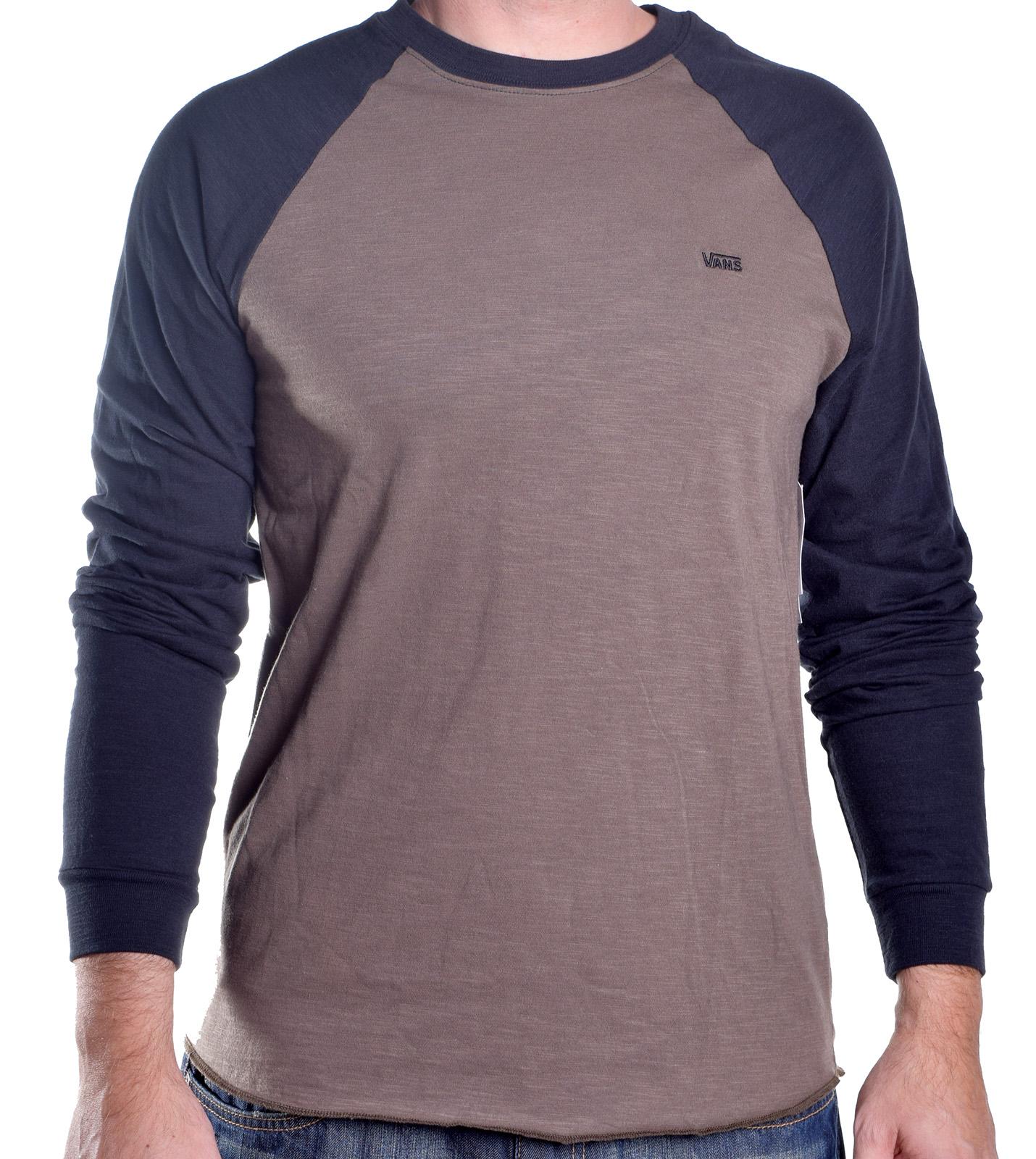 Vans Men 39 S Strike Out Raglan Tee Shirt Ebay