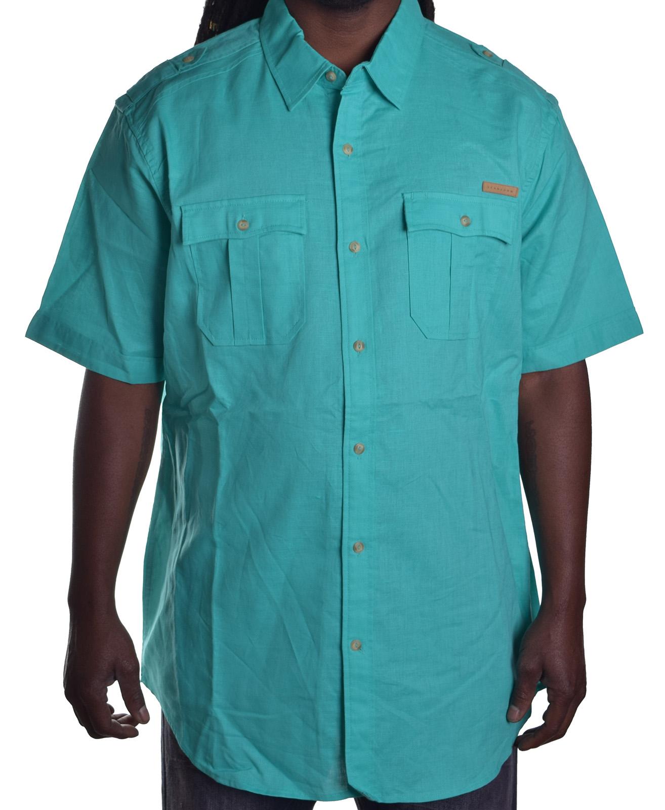 Sean john men 39 s original fit linen button up shirt ebay for Sean john t shirts for mens