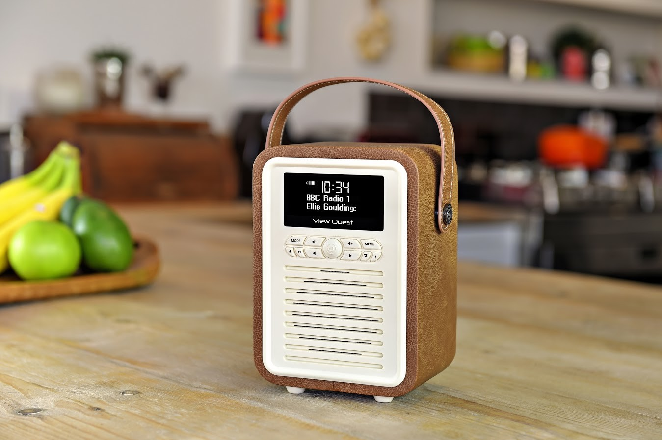vq viewquest retro mini dab dab fm radio bluetooth. Black Bedroom Furniture Sets. Home Design Ideas