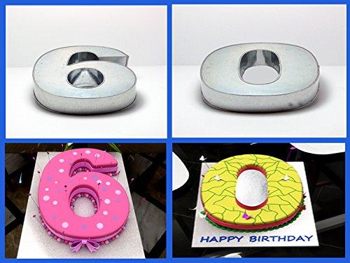 eurotins large numbers cake baking tin pan birthday. Black Bedroom Furniture Sets. Home Design Ideas