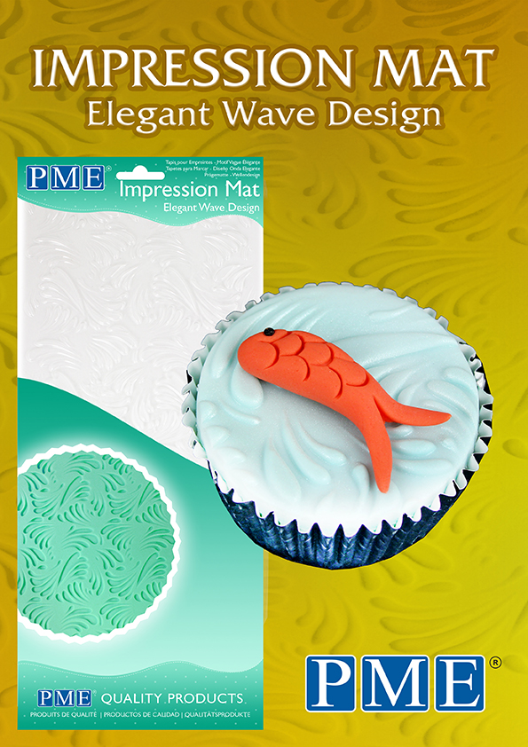 Pme Icing Fondant Impression Imprint Mat Sugarcraft Candy
