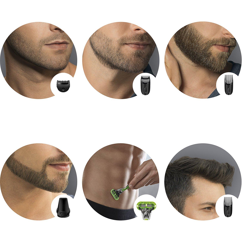 braun mgk3040 multi grooming kit 7 in 1 mens beard hair trimmer gillette razer ebay. Black Bedroom Furniture Sets. Home Design Ideas