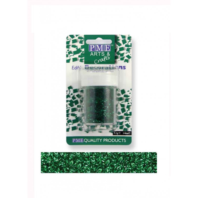 PME Edible Glitter Flakes for Decorating Cupcake Cake ...