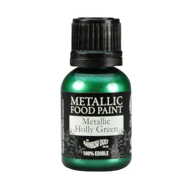 Rainbow dust metallic edible food paint for cup cake - Spray pintura metalizada ...