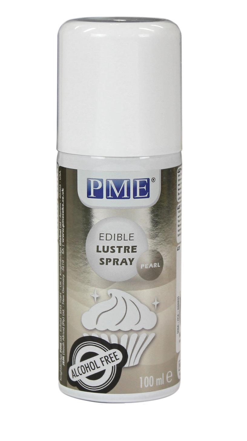 pme lustre spray paint edible for cake food fondant icing decoration. Black Bedroom Furniture Sets. Home Design Ideas