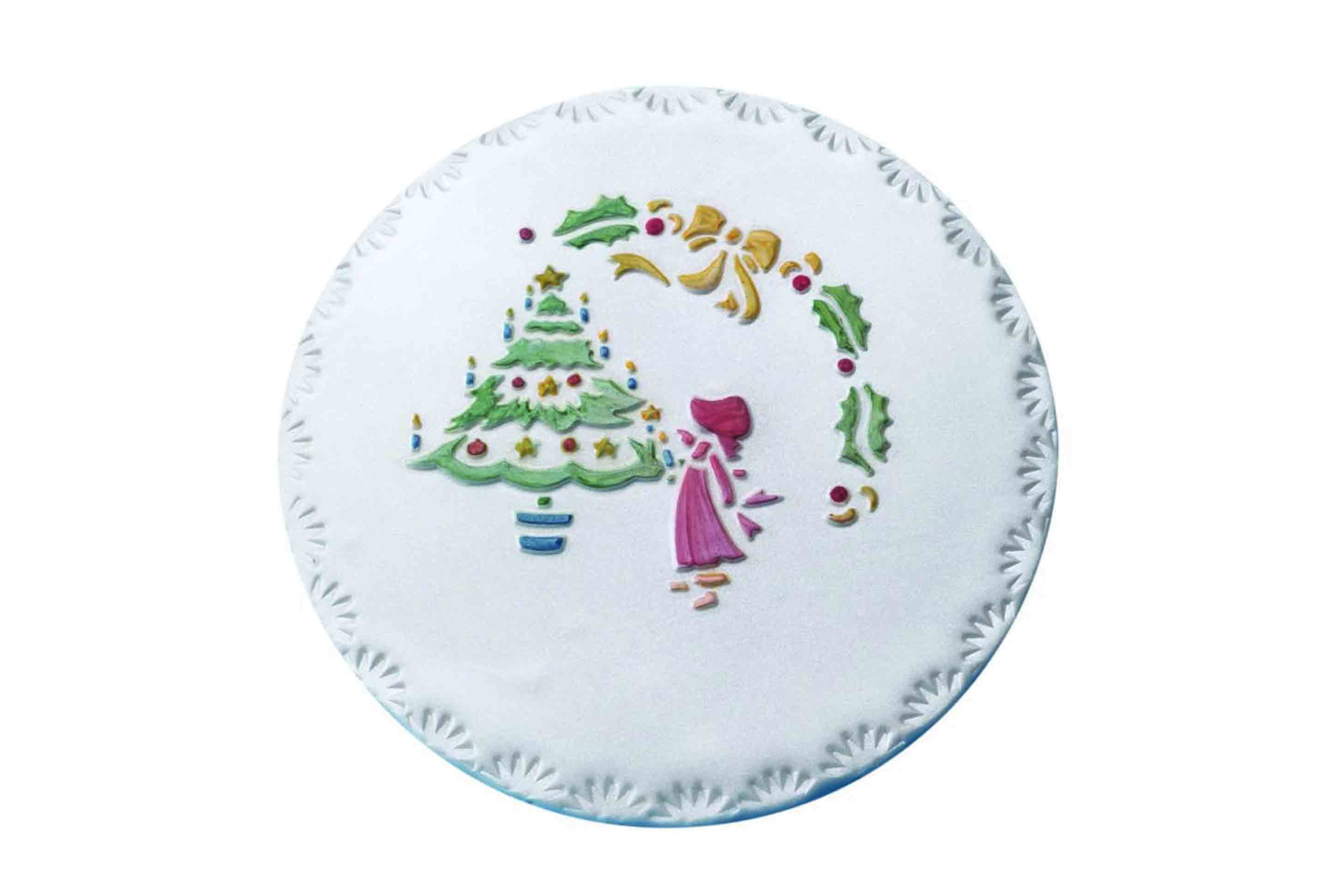 PME Christmas Stencil for Sugarcraft Icing Paste Chocolate ...