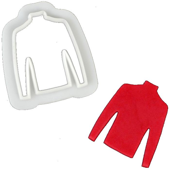 FMM Cutter Jumper Pullover Ausstechform Fondant Zuckerglasur Kuchen Dekoration