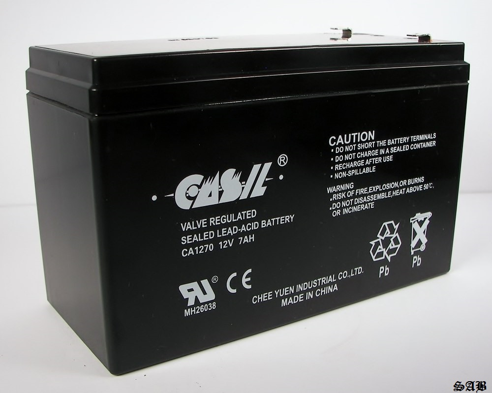 casil 12v 7ah ca1270 sunbright 6 fm 7 0 sealed lead acid battery 12 volt 7 ah ebay. Black Bedroom Furniture Sets. Home Design Ideas