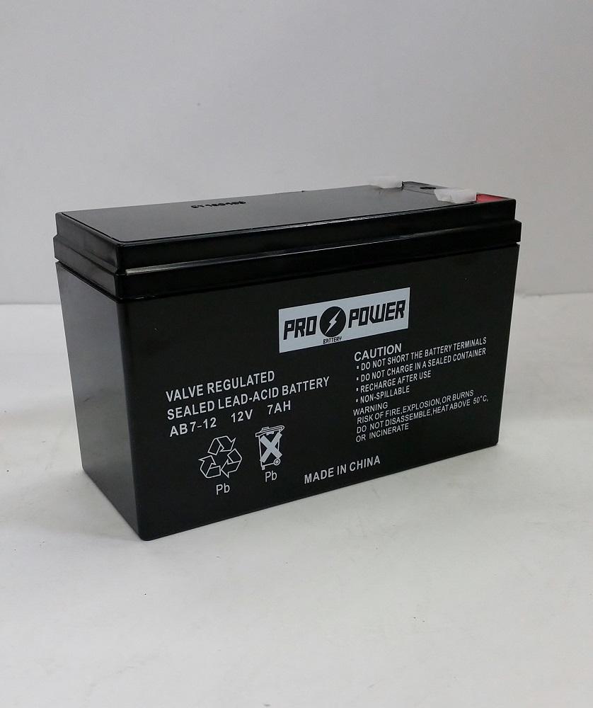 propower 12v 7ah solex bd127 sb1270 alarm back up battery ebay. Black Bedroom Furniture Sets. Home Design Ideas