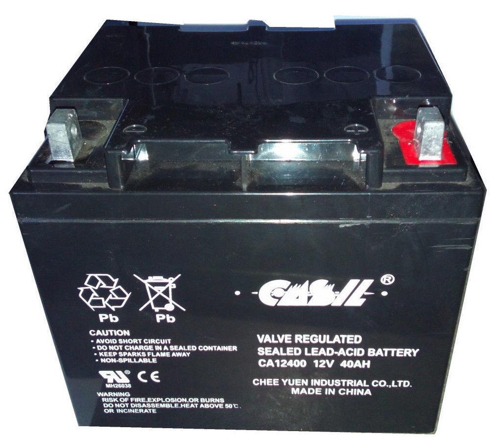 casil ca12240 12v 40ah for wheelchair battery replaces 38ah yuasa np38 12 ebay. Black Bedroom Furniture Sets. Home Design Ideas