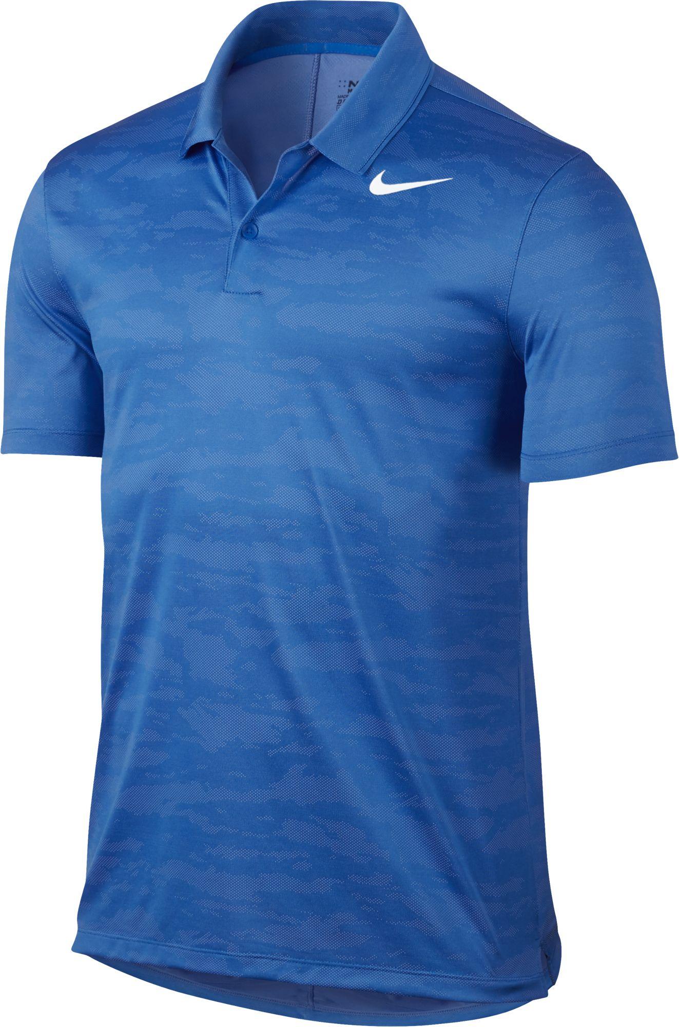 2017 nike icon jacquard polo golf shirt mens 885708 ebay for Nike golf mens polo shirts