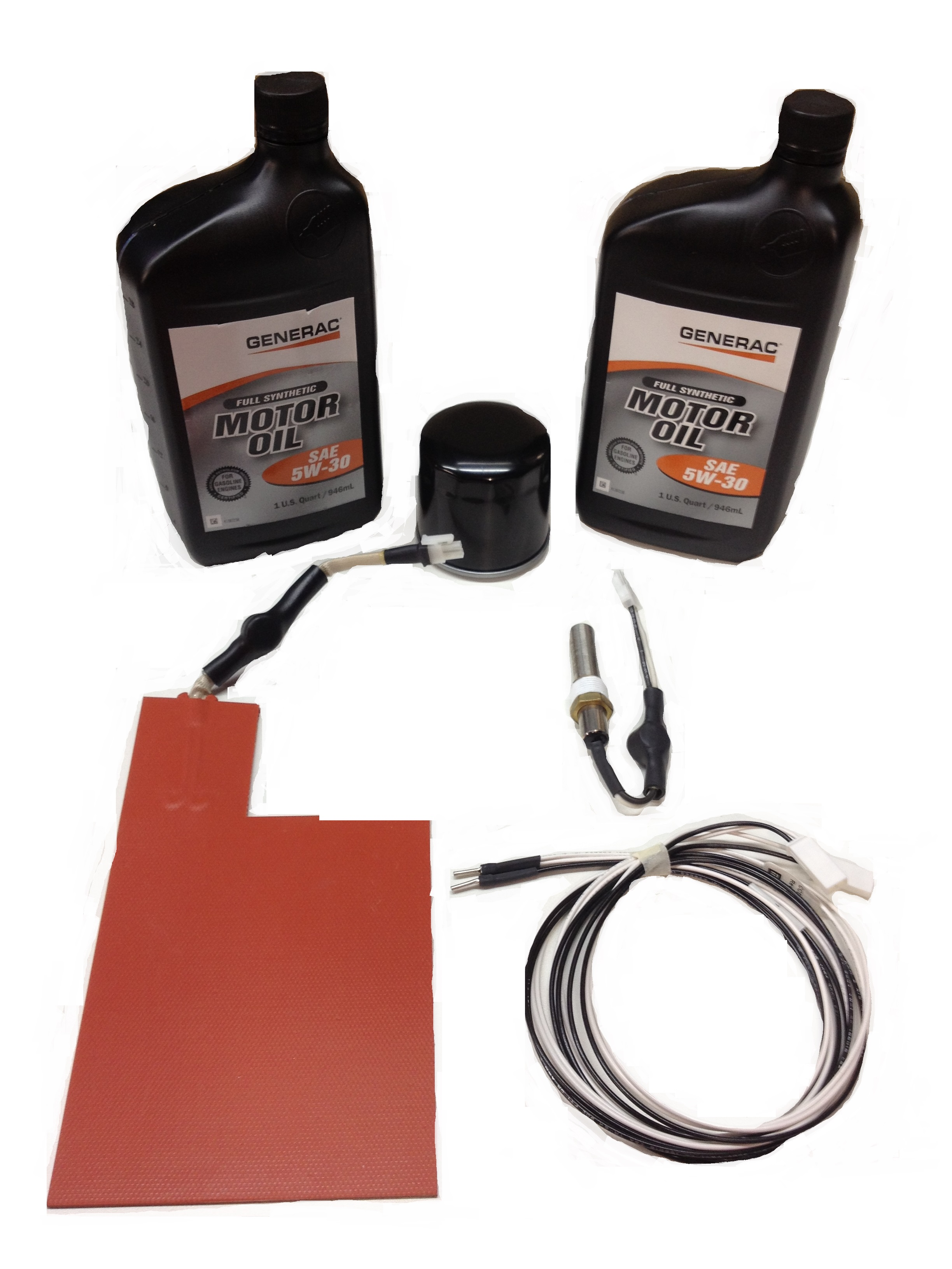 Generac corepower cold weather kit w 2 qt 39 s of synthetic for What motor oil is best for cold weather