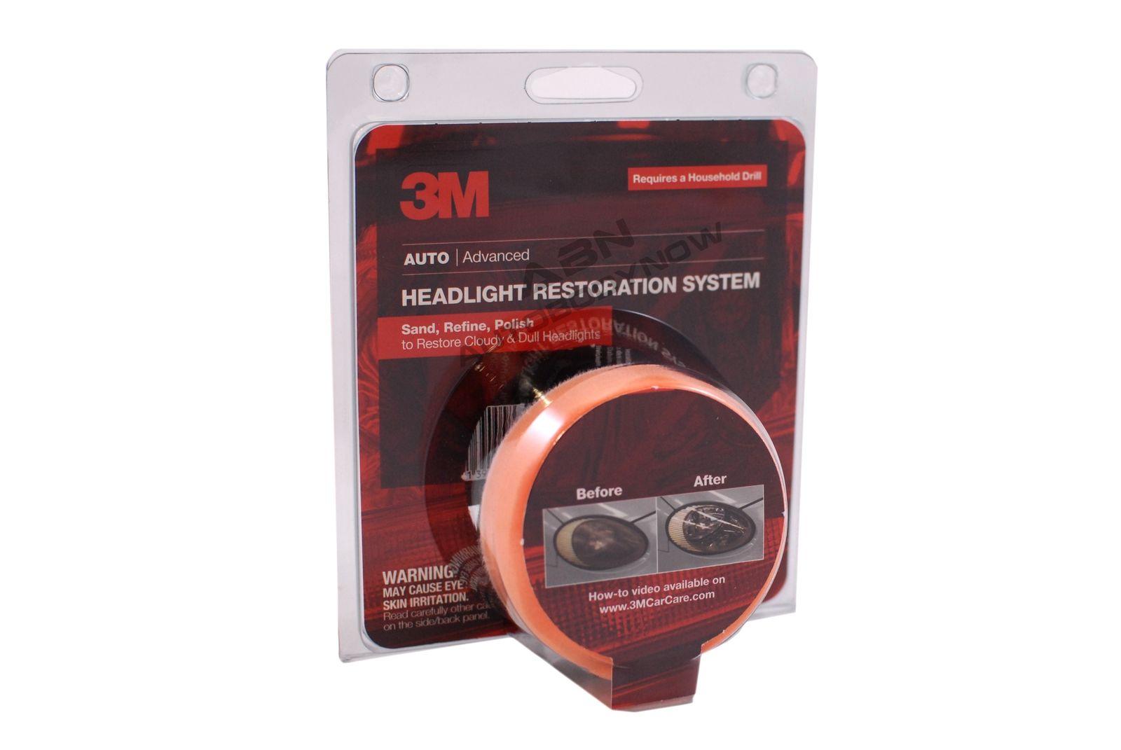 3m headlight restoration kit 39008 instructions
