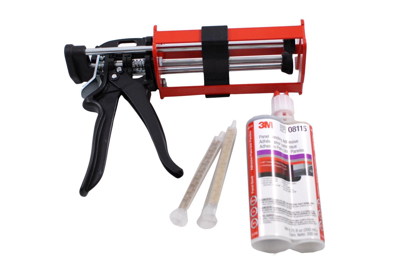 2 Part Epoxy Gun : M panel bonding adhesive manual