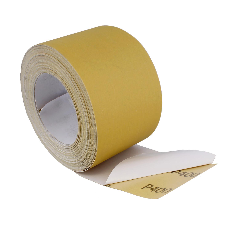 """oxyde d/'aluminium PSA environ 18.29 m ABN adhésif papier de verre rouleau 2-3//4/"""" Pouces x 20 Yd"""