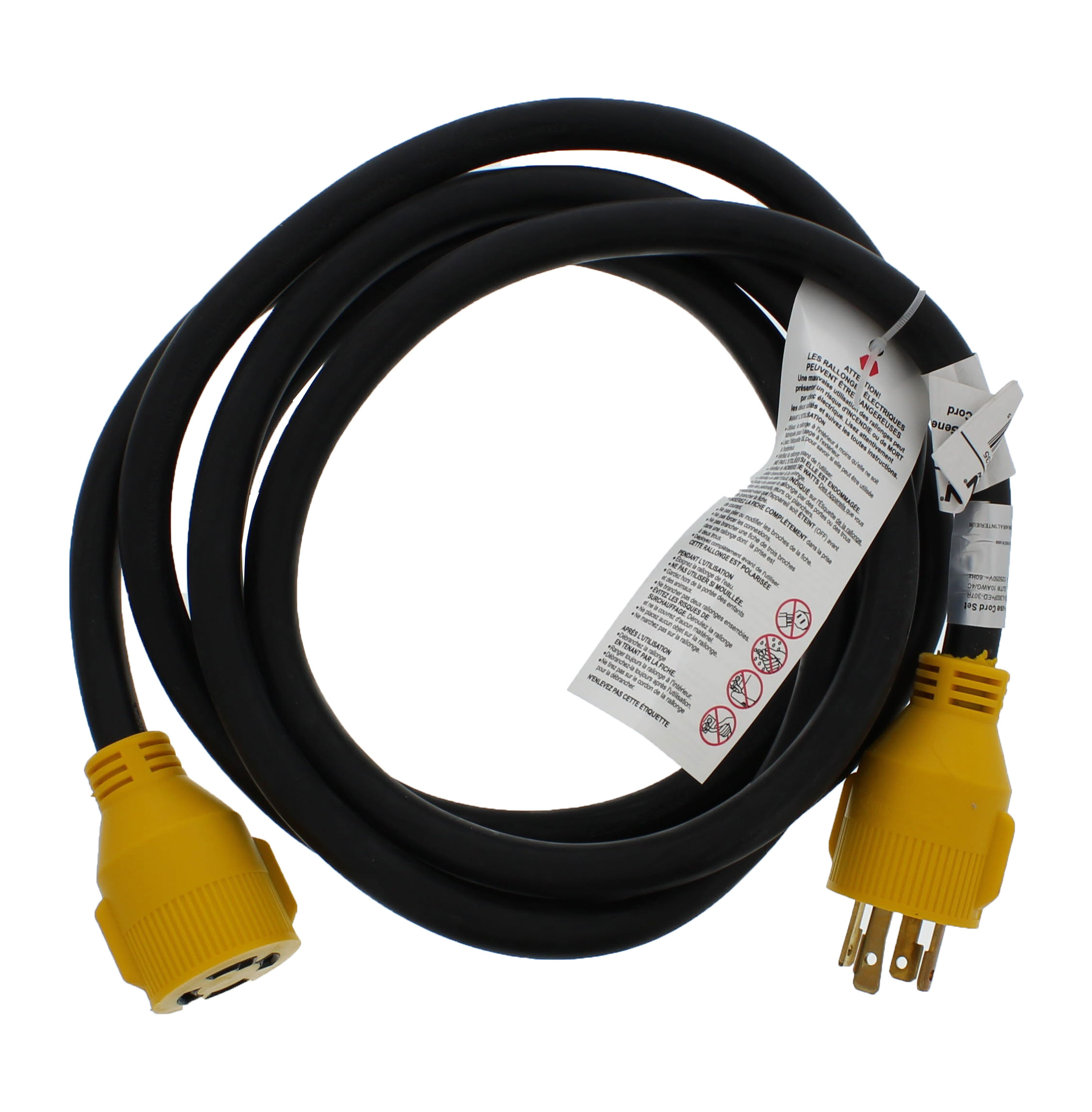3 Prong Generator Cord : Abn amp volt prong generator extension cords