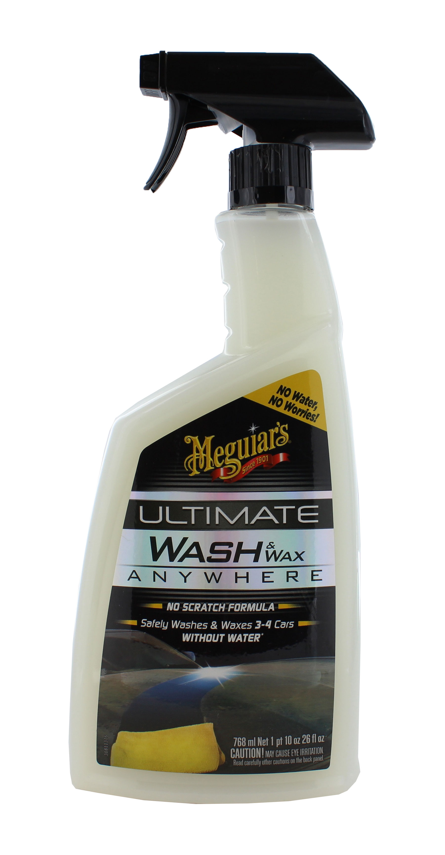 meguiars g3626 ultimate wash wax anywhere spray 26 oz. Black Bedroom Furniture Sets. Home Design Ideas