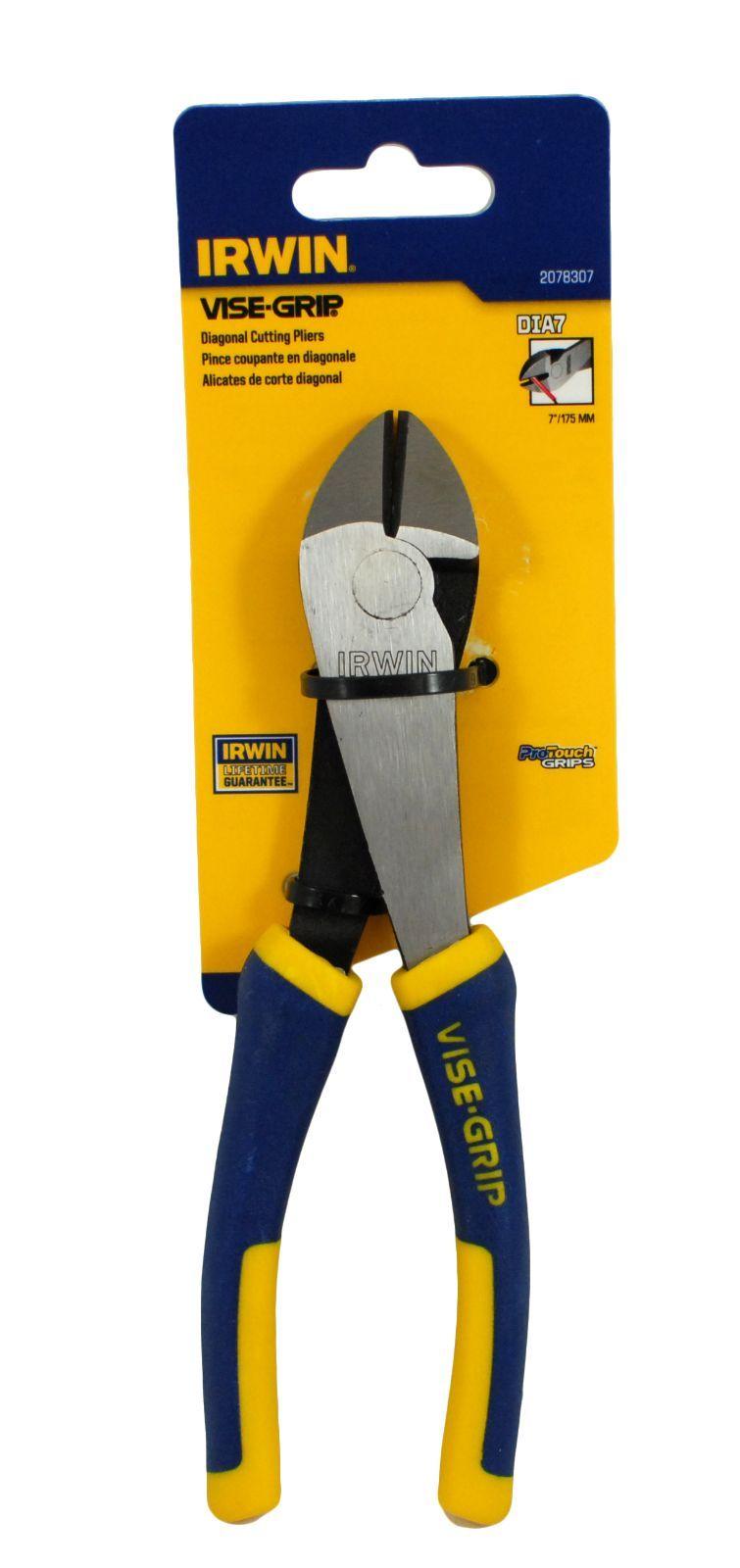 Irwin vise grip 2078307 7 034 diagonal cutting pliers ebay for Irwin motors body shop
