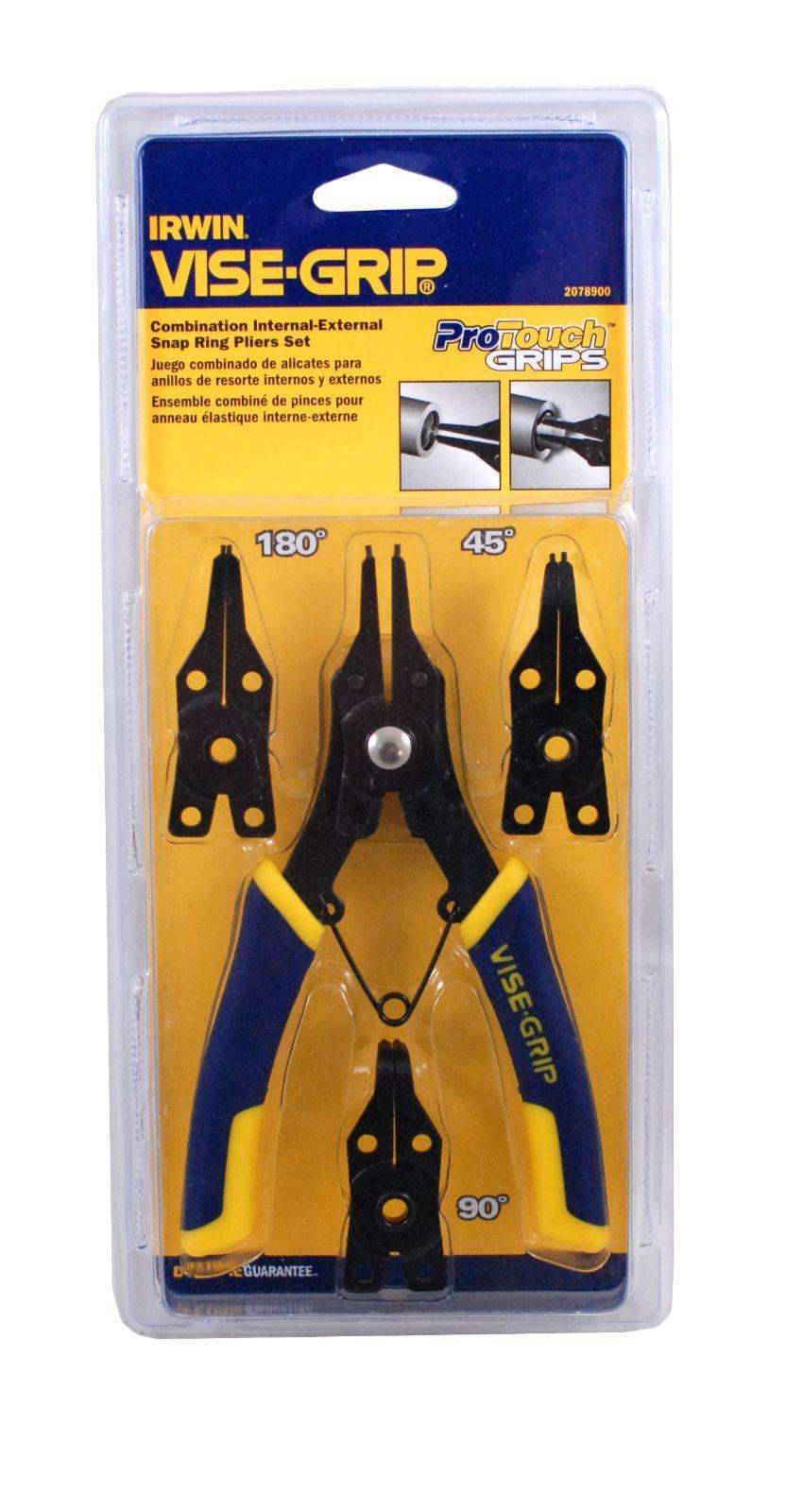 Irwin vise grip convertible snap ring pliers 2078900 ebay for Irwin motors body shop