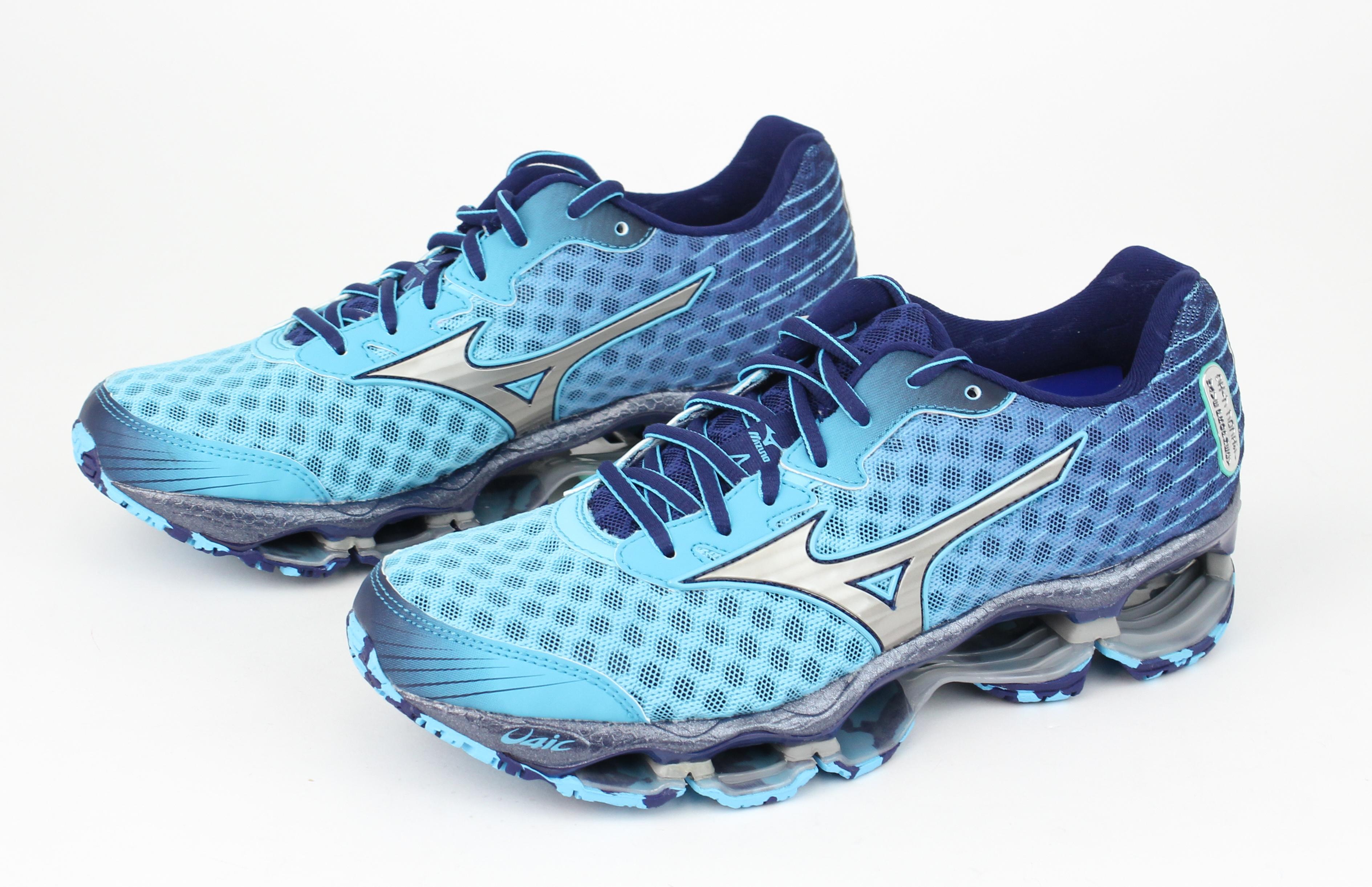 mizuno womens wave prophecy 4 shoes aw15; womens mizuno wave prophecy blue  green