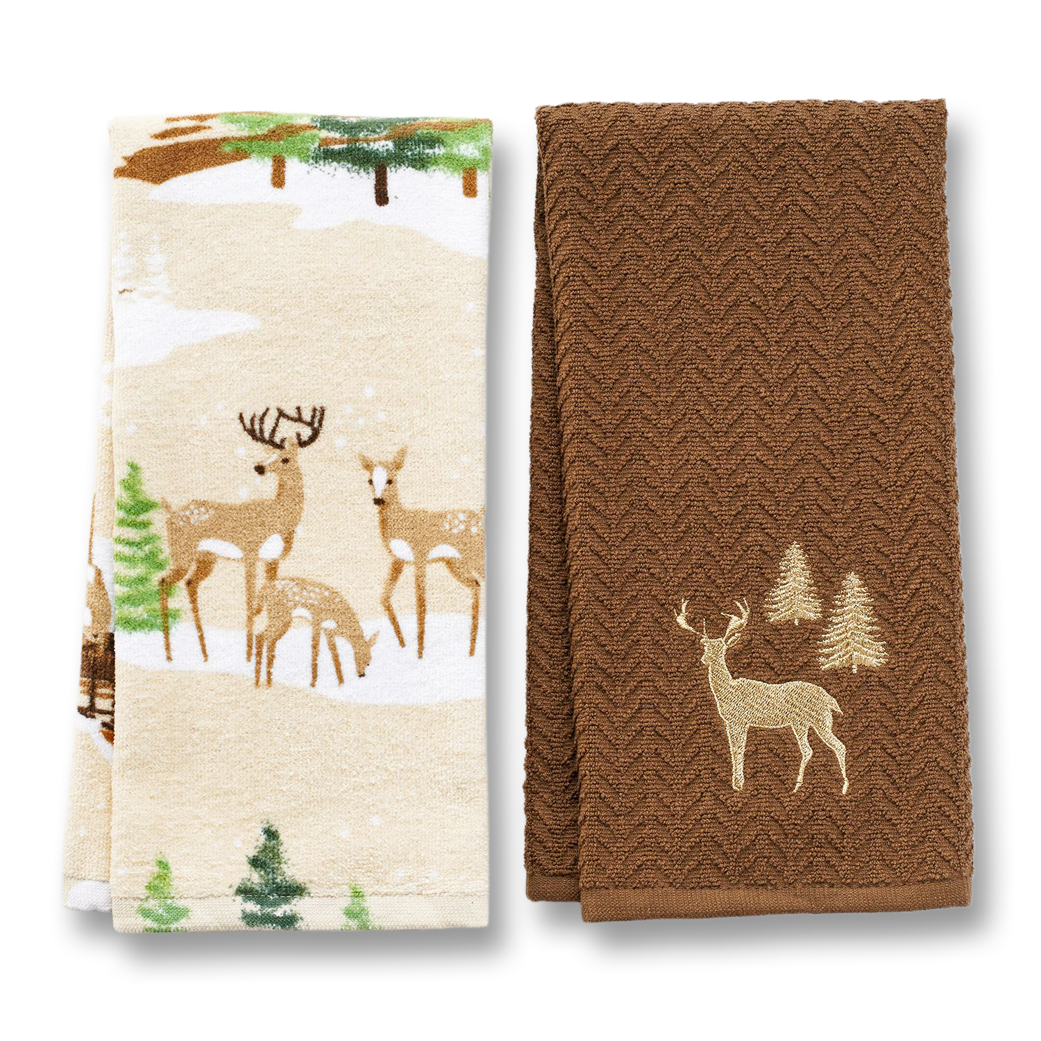 St Nicholas Square Christmas Cotton Kitchen Towel Set
