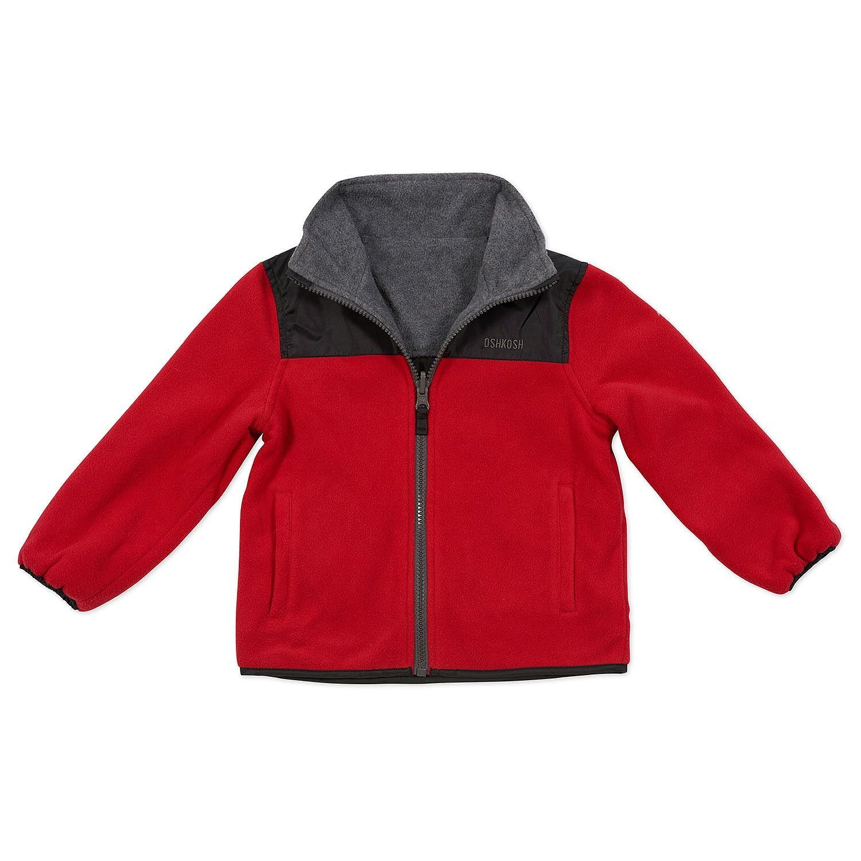 OshKosh Little Kids Reversible Fleece Jacket Outerwear   eBay