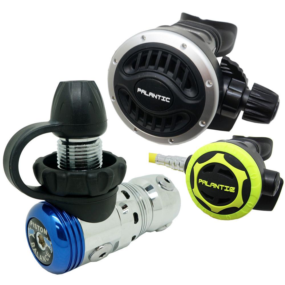 Palantic Scuba Diving Palantic AS103 DIN Adjustable Regulator & Octopus Combo