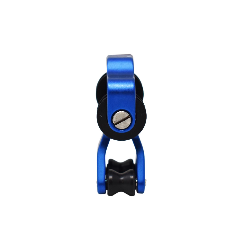 Safari choix Aluminium Compound Bow Cable Slide chaîne Splitter Roller Glide