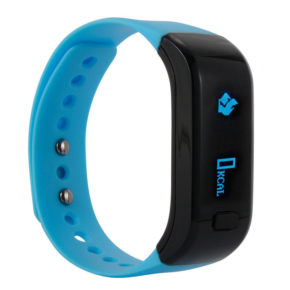 Smart Band Wristband Monitor Sleep Sports Fitness Tracker ...