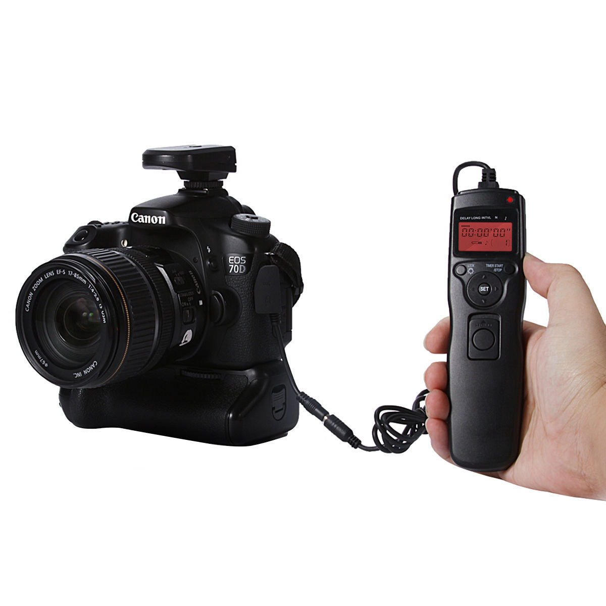 Time Lapse Intervalometer Timer Remote Shutter Release For