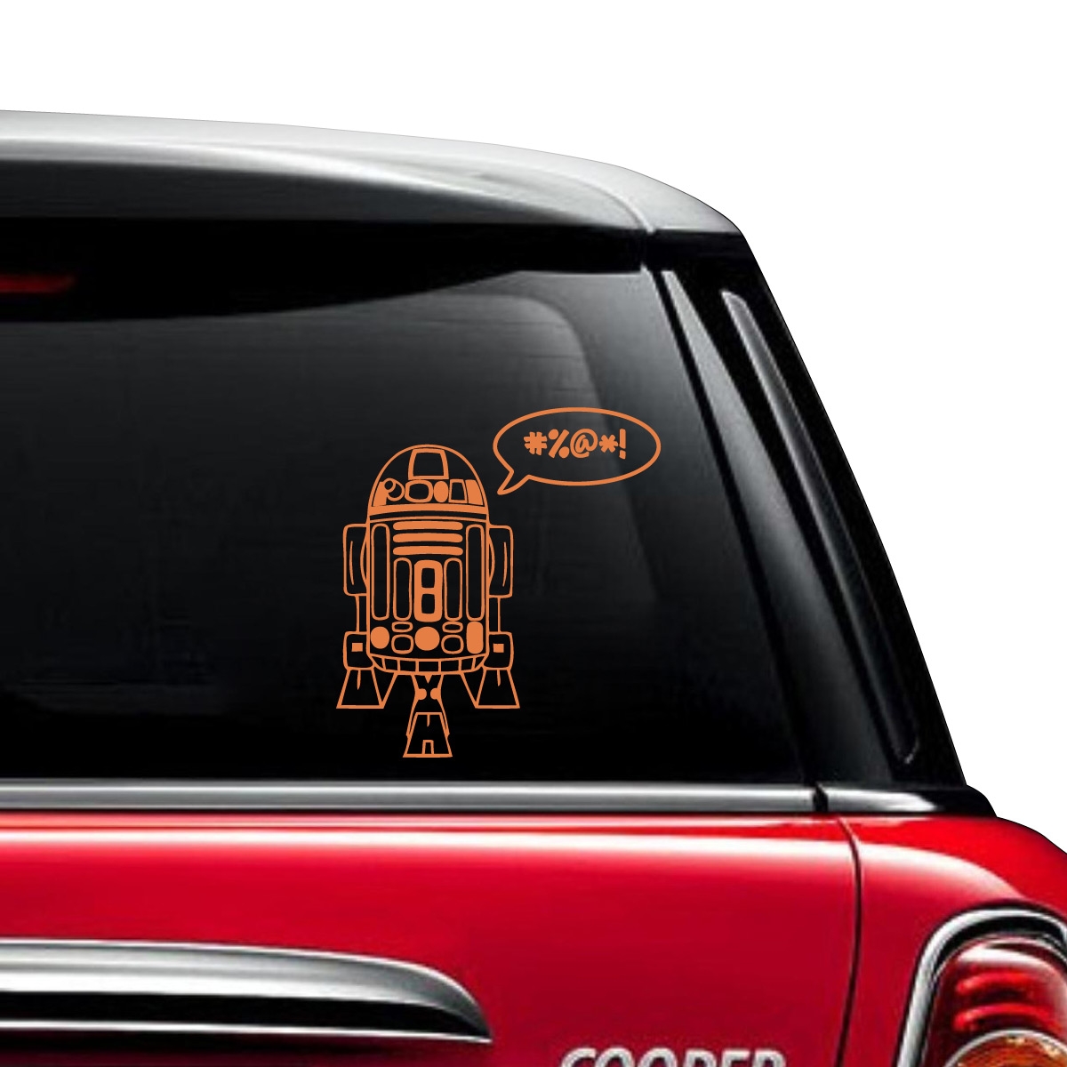 RD Car Decal The Decal Guru - Star wars car decals