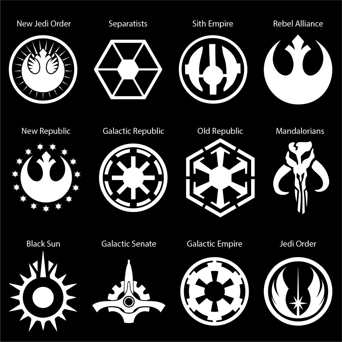Star wars logos car decal the decal guru biocorpaavc