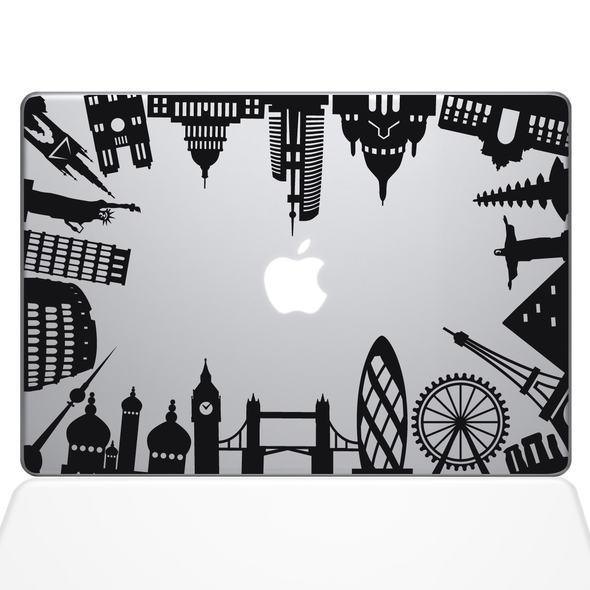 Around the world monuments macbook decal the decal guru gumiabroncs Gallery
