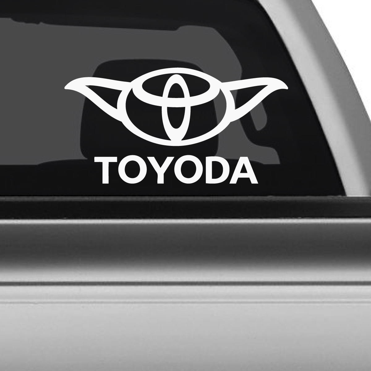 Toyota Yoda Star Wars Car Decal The Decal Guru - Star wars car decals