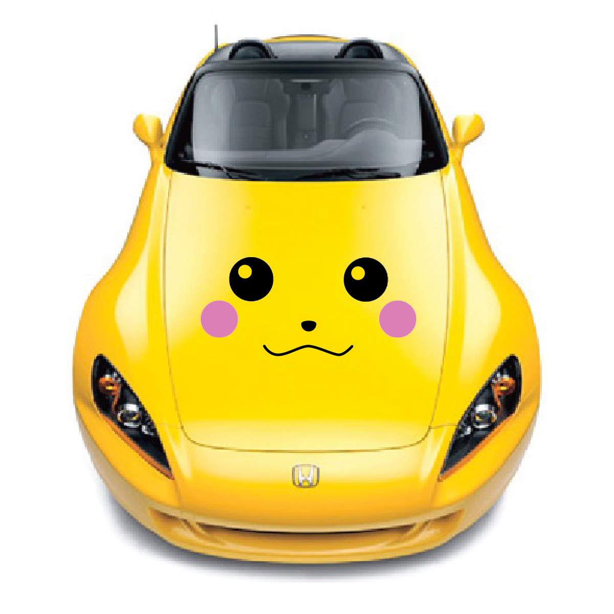 Pikachu Car Decals The Decal Guru - Design decals for cars