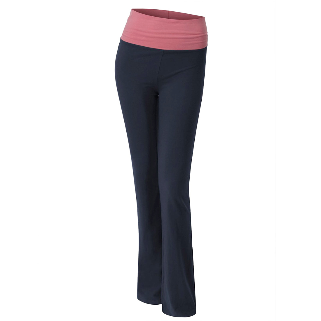 Womens Comfy Skinny Yoga Pants Leggings Running Workout Exercise ...