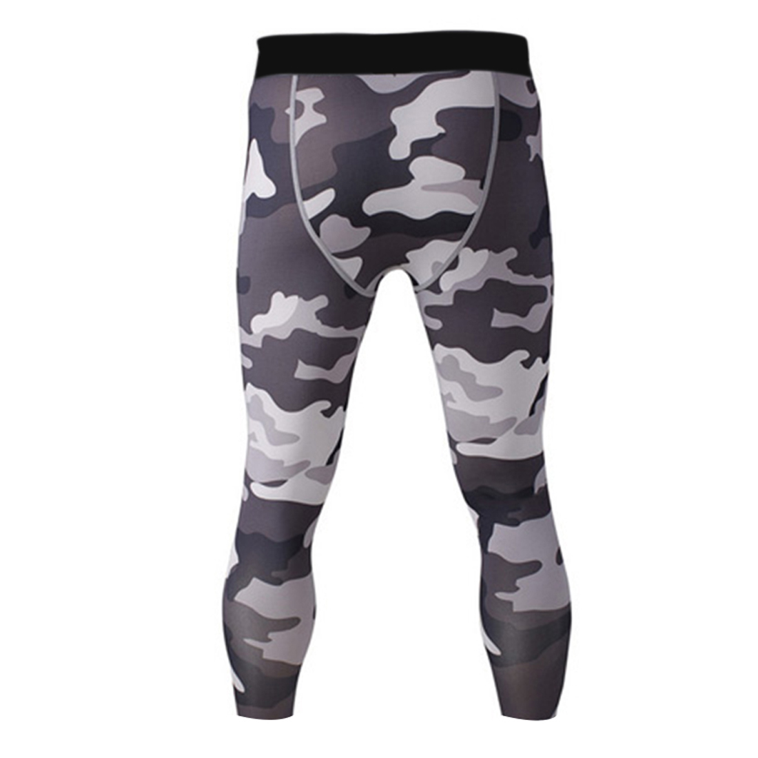Fitness Leggings Camo: Mens Camo Compression Pants Gym Fitness Base Layers Sweat