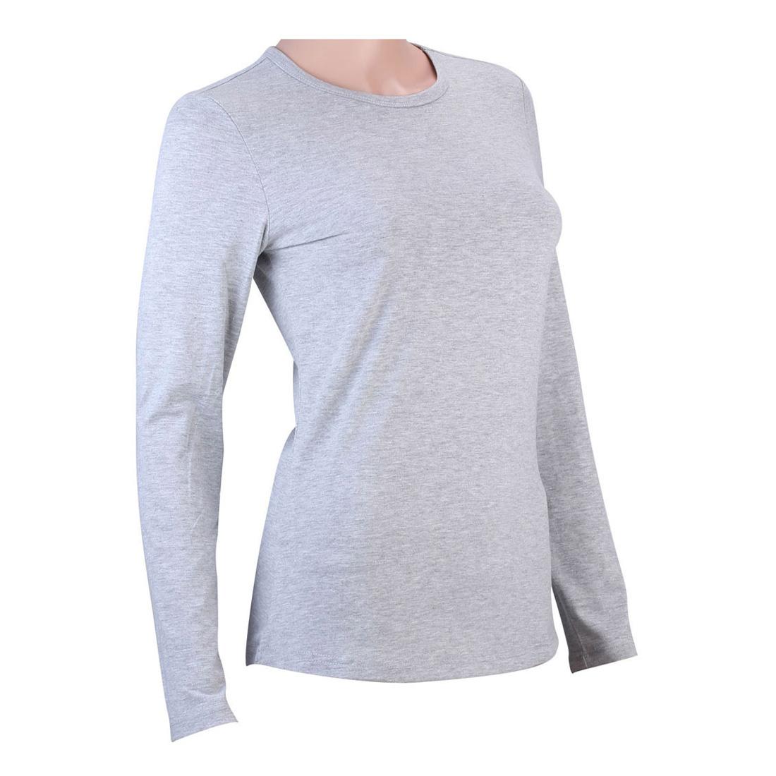 100 cotton womens v neck crew neck long sleeve t shirt for Basic shirts for women