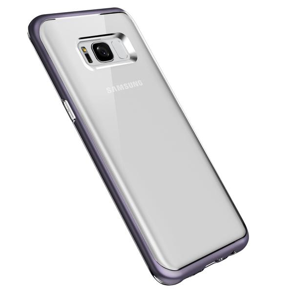 VRS-Design-Crystal-Bumper-Clear-Case-for-Samsung-Galaxy-S8-Plus-Orchid-Gray-SS