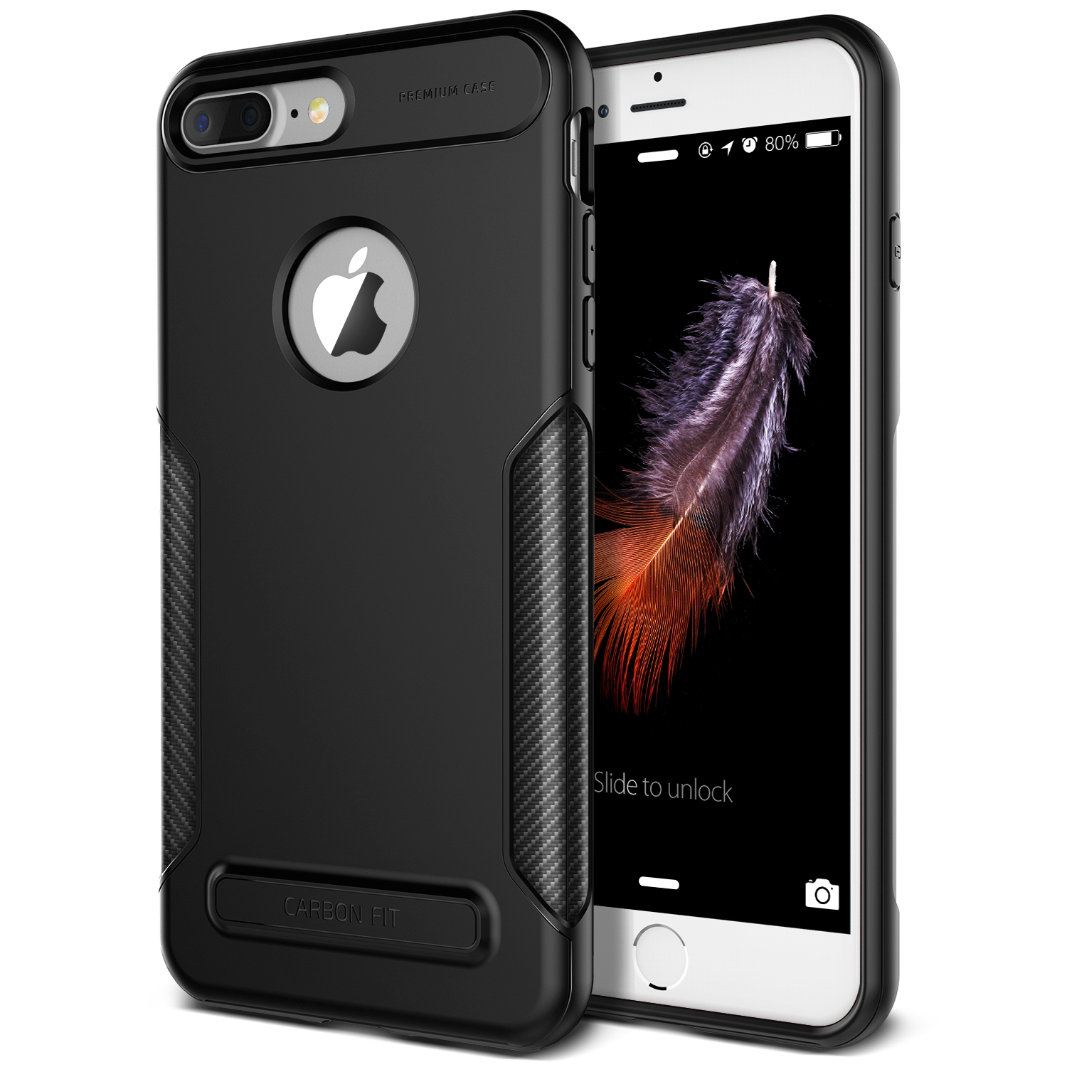 VRS-Design-CARBON-FIT-Series-TPU-Slim-Lightweight-Case-for-iPhone-7-Plus-5-5-034-JE