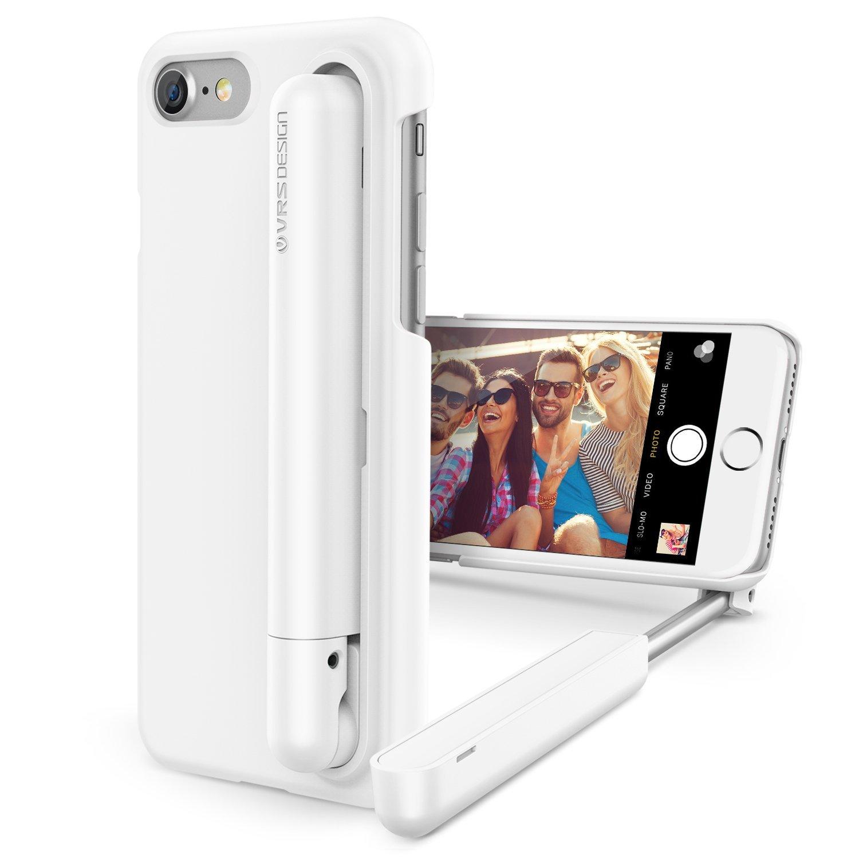 vrs design cue stick series 2 in 1 compact selfie case for iphone 7 4 7 vs ebay. Black Bedroom Furniture Sets. Home Design Ideas