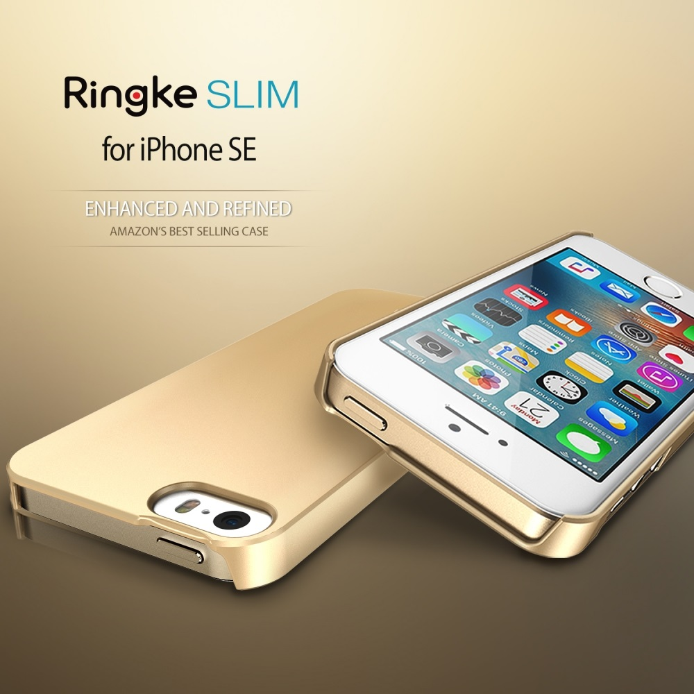 Ringke-SLIM-Series-Extremely-Slim-Thin-Snug-Fit-Hard-Case-for-iPhone-SE-5S-5-VS