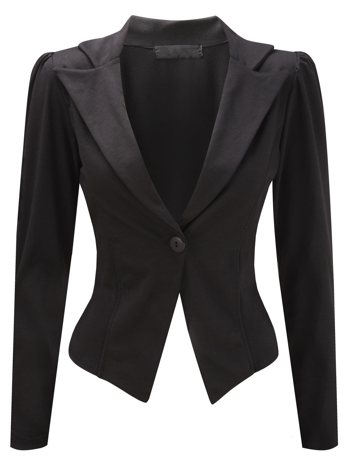 Black tailored jacket womens