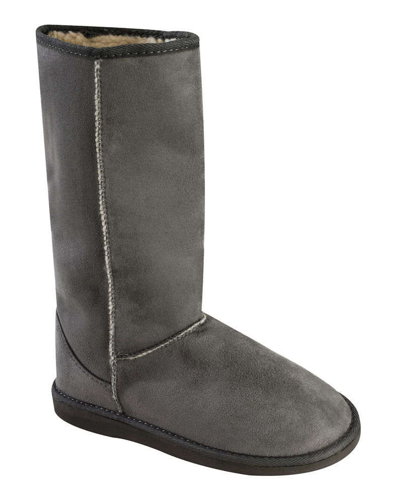 new womens faux suede fur lined boots sizes in 10