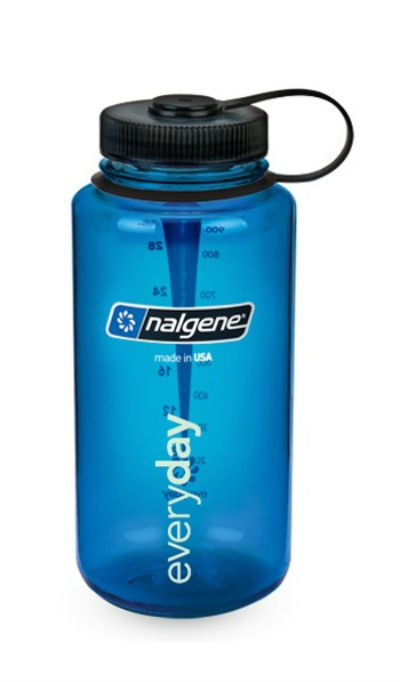 nalgene wide mouth water bottle 1 litre bpa free all colours ebay. Black Bedroom Furniture Sets. Home Design Ideas