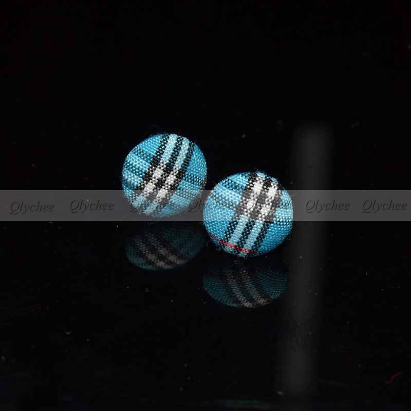 New Fashion Vintage Sexy Farbic Button Ear Studs 1 Pair  Earring Earrings